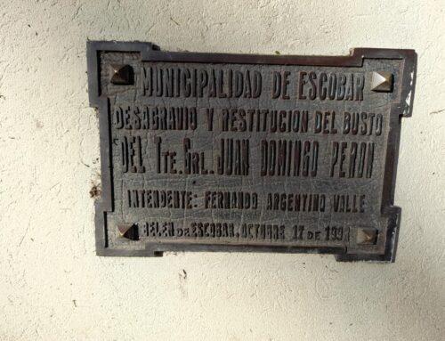 Monumentos y placas de nuestros intendentes