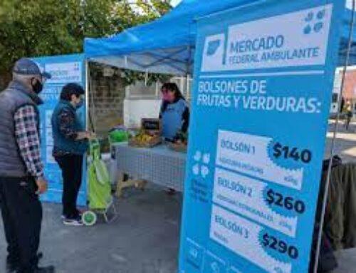 El Mercado Federal Ambulante llegó al partido de Escobar
