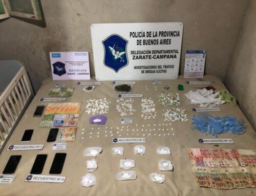 Tres detenidos y más de 400 gramos de cocaína incautados en Garín