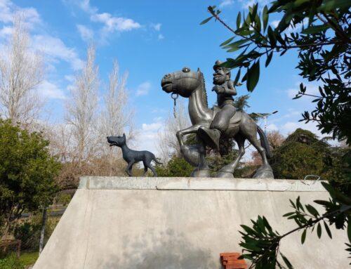 Monumento de Molina Campos recupera su fisonomía